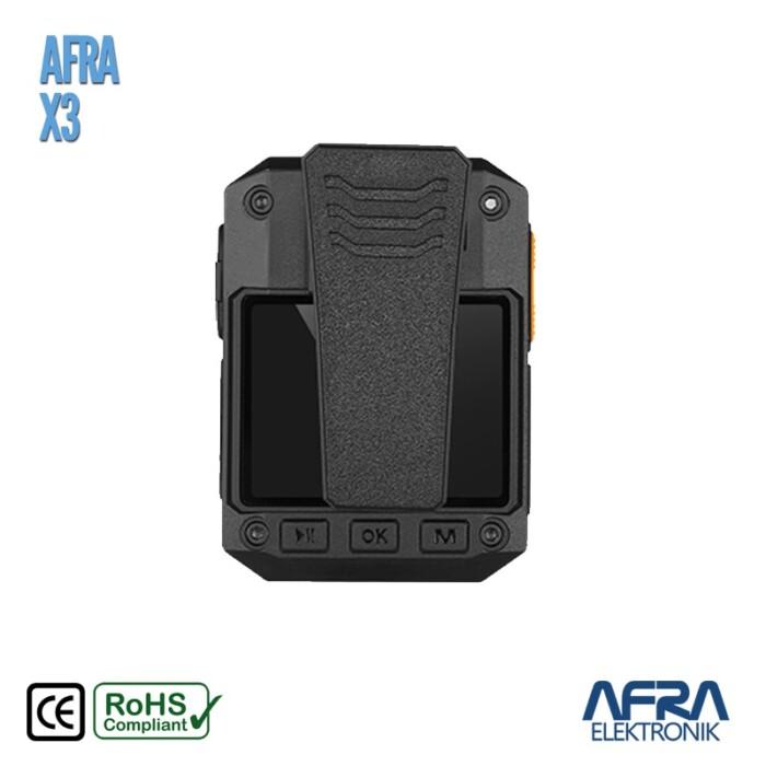 Afra X3 Yaka Kamerası