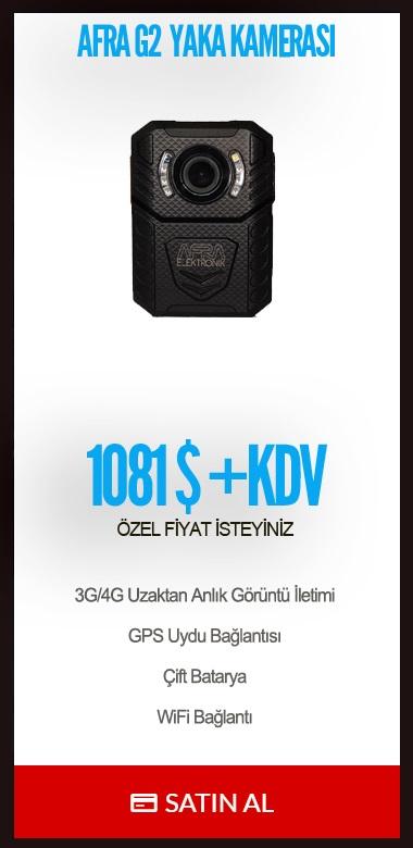 Afra G2 Yaka Kamerası